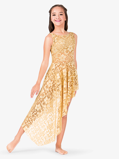 Child Emballe Lace High-Low Overdress - Style No N7261Cx