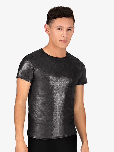 Mens Metallic Short Sleeve Shirt - Style No N7301