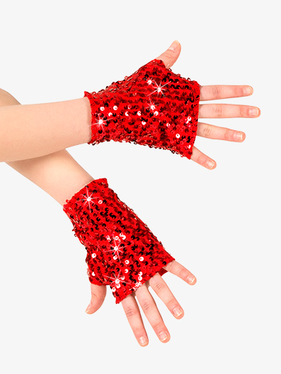 Adult Sequin Mitts - Style No N7303