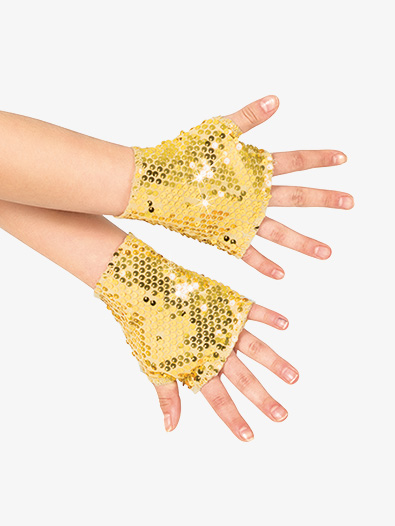 Girls Sequin Mitts - Style No N7303C
