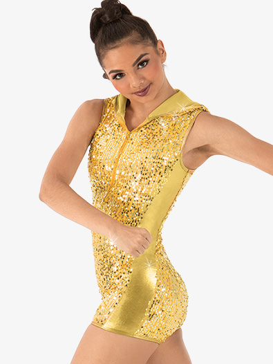 Adult Sequin Shorty Unitard - Style No N7315