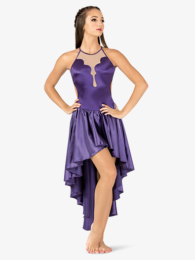 Womens Performance Satin X-Back Camisole Dress - Style No N7699