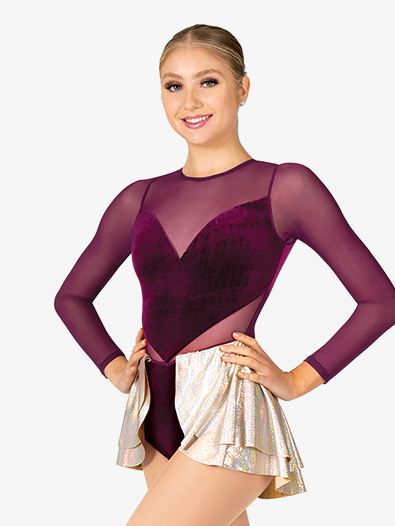 Women's Long Sleeve Performance Unitard - Style No N7924