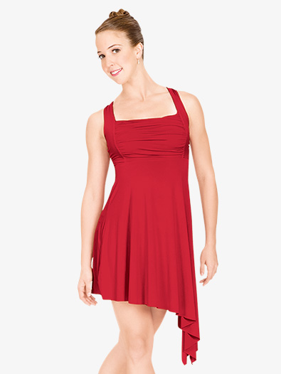 Adult Twist Back Lyrical Dress - Style No N8600x