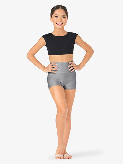 Child High Waist Dance Shorts - Style No N8641C