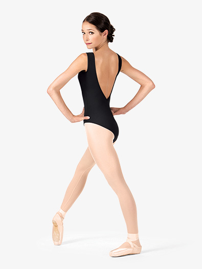 Adult Deep V-Back Tank Leotard - Style No N8945