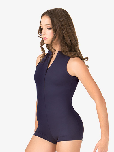 Adult Deep V-Back Tank Shorty Unitard - Style No N8947