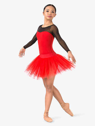 Womens 4-Layer Ballet Tutu Skirt - Style No N9010
