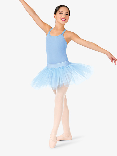 Girls 4-Layer Ballet Tutu Skirt - Style No N9010Cx
