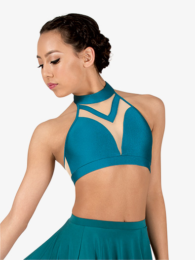 Girls Lyrical Flow Collection Halter Bra Top - Style No N9110C
