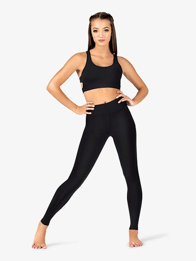 Womens Compression Workout Leggings - Style No NA134x