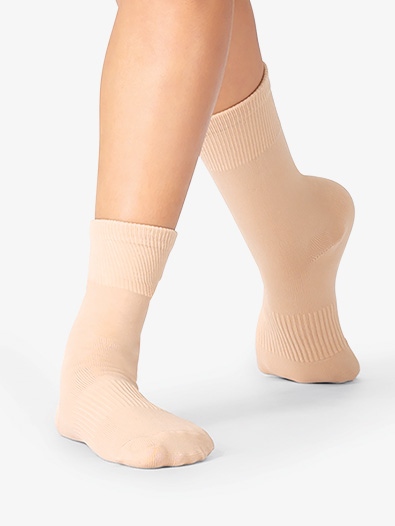 Girls Arch Support Dance Socks - Style No NSOCK1C