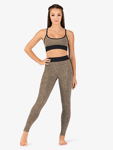 Womens High Rise Workout Leggings - Style No NY7575MOx