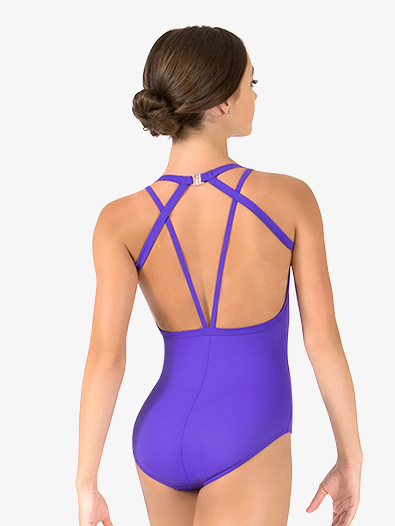 Womens Tiler Peck Strappy Back Tank Leotard - Style No P1073