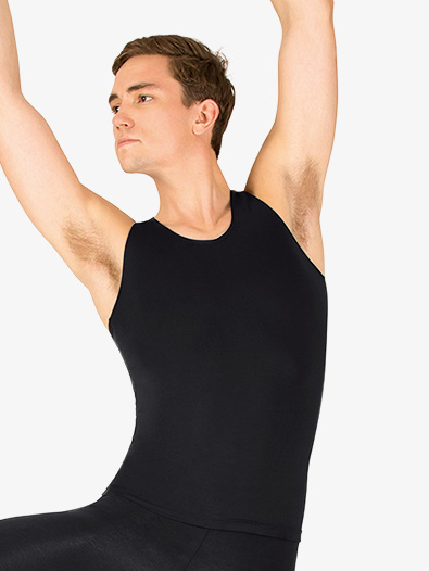 Mens Microfiber Dance Tank Top - Style No P325Mx