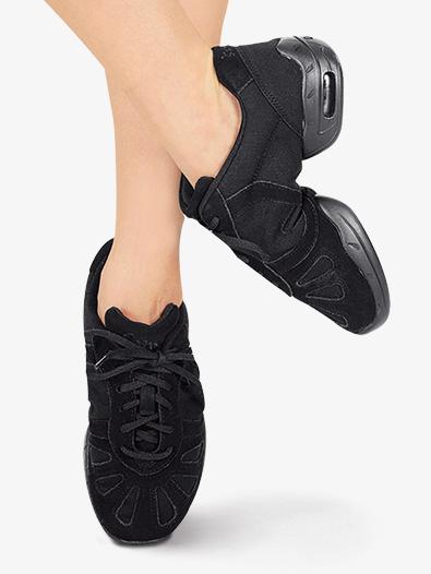 Bloch Dance Womens Canvas Boost Split Sole Dance Sneaker