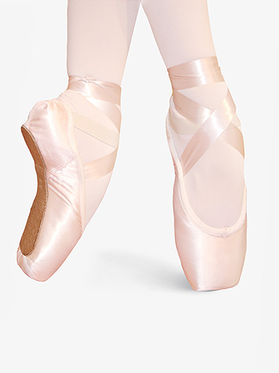 Adult Pre-Arched Pointe Shoes - Style No PA107
