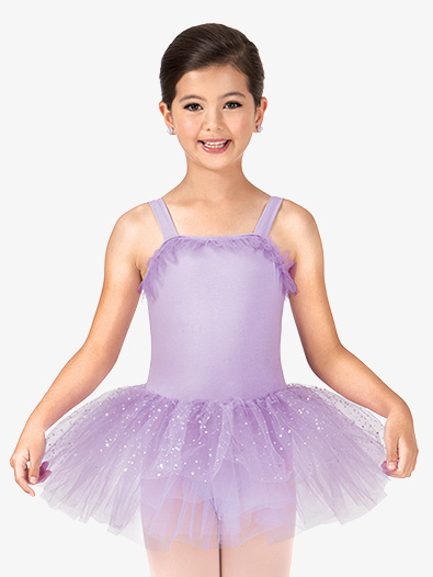 Child Sparkle Dot Tank Tutu Dress - Style No PB2020C