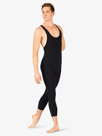 Mens Dance Tank Cropped Unitard - Style No PB691