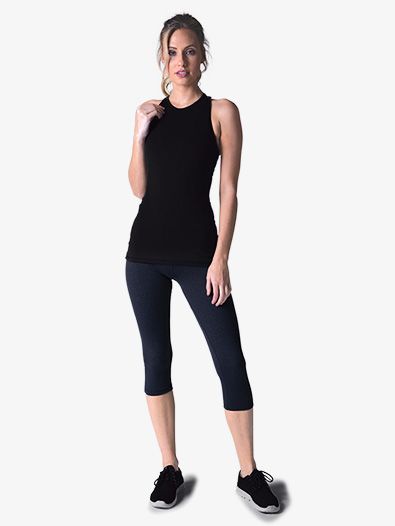 Womens Mesh Cropped Workout Leggings - Style No PDP6154x