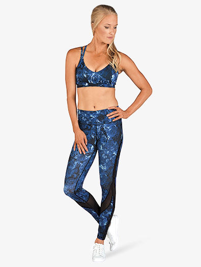 Womens Abstract Print Workout Leggings - Style No PDP6200x