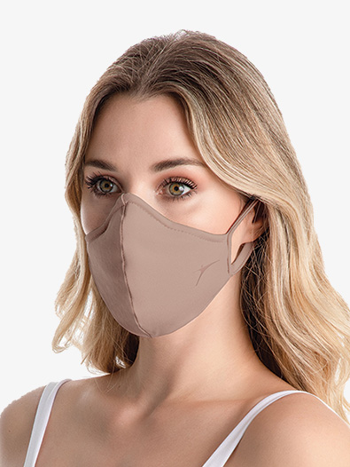 Adult Nude Face Mask - Style No RDE2376