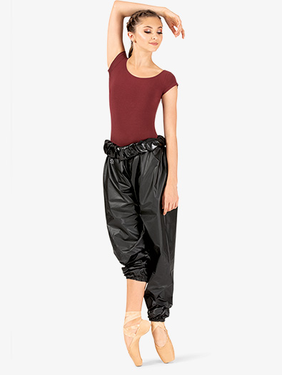 Womens High Waist Trash Bag Dance Pants - Style No RP101