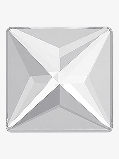 Swarovski Crystal Jewel Cut Square Flatback - Style No RU073x