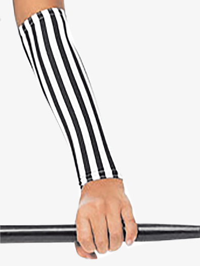 Girls/Womens Striped Performance Gloves - Style No RV8613