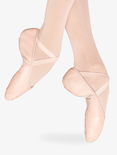 Adult Leather Split-Sole Ballet Slipper - Style No S0203Lx