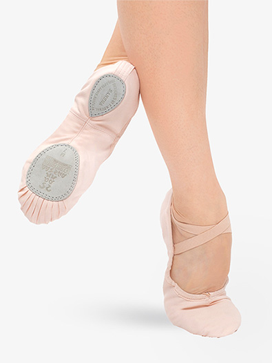 Adult Entrechat Canvas Split-Sole Ballet Shoes - Style No S8C