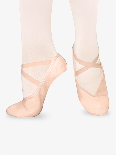 Adult Tendu Canvas Split-Sole Ballet Shoes - Style No S9C