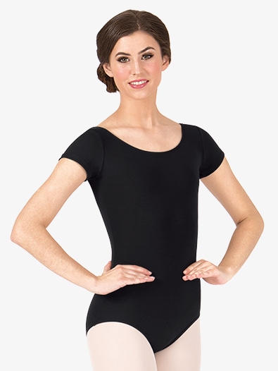 Adult Economy Short Sleeve Leotard - Style No TB133