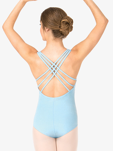 Adult Triple Strap Tank Dance Leotard - Style No TH5527