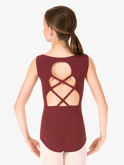 Child Keyhole Back Tank Dance Leotard - Style No TH5528Cx