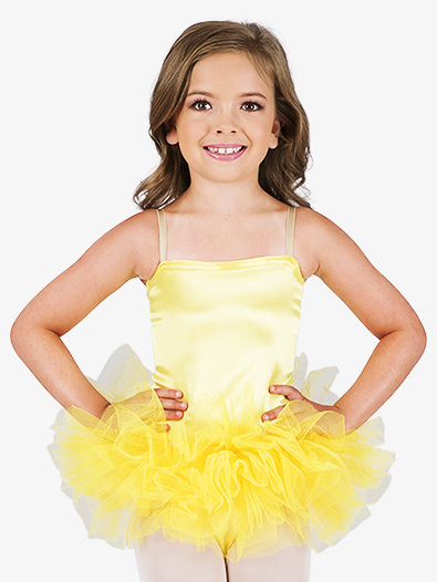 Child Satin Basic Camisole Leotard - Style No TH7500C