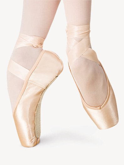 Russian Made Adult Triumph Pointe Shoes - Style No TRS