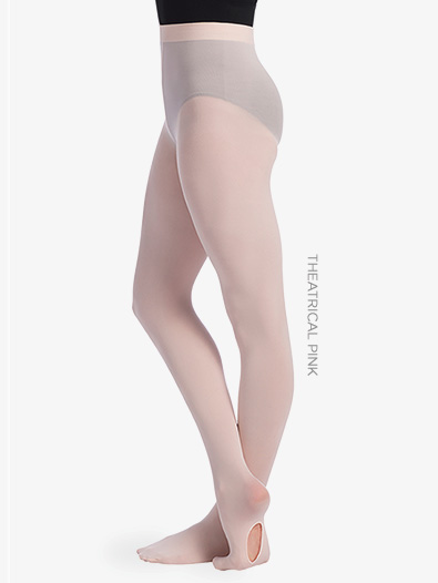 Womens Convertible Dance Tights - Style No TS82
