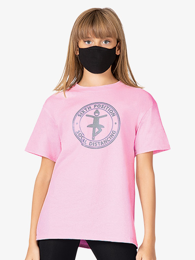 Girls Sixth Position T Shirt - Style No TSC