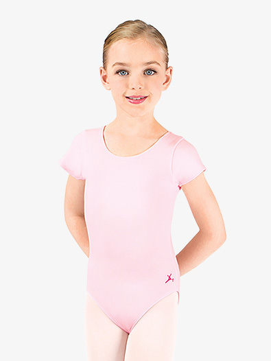 Child and Toddler Short Sleeve Leotard - Style No U6074CL