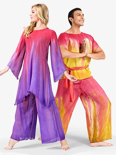 Child Worship Hand Painted Palazzo Pants - Style No WC100C