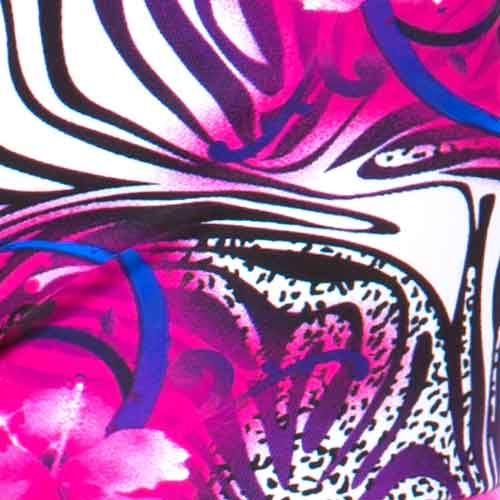 Floral/Zebra