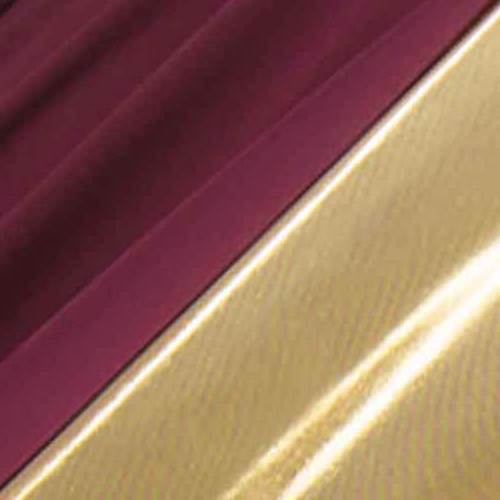 Burgundy/Gold