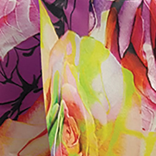Rose Lavender Floral