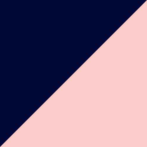 Navy Blue/Blush Mesh