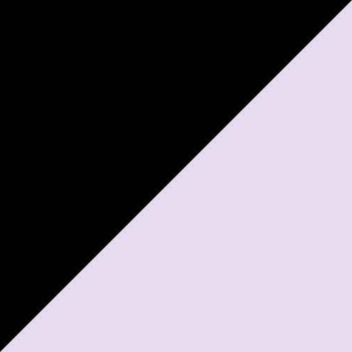 Black/Dusty Lavender